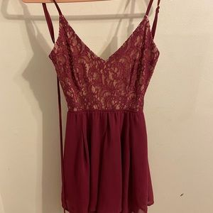 Beautiful romper worn to a wedding once